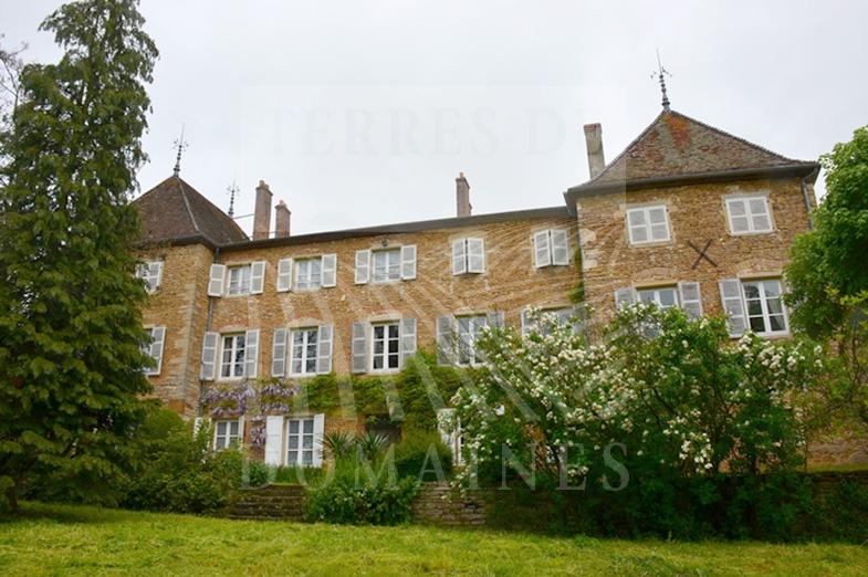 Château viticole dans le Maconnais – Ref 2017/09