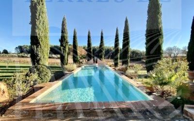 Charming estate in AOP Coteaux Varois : Ref P124